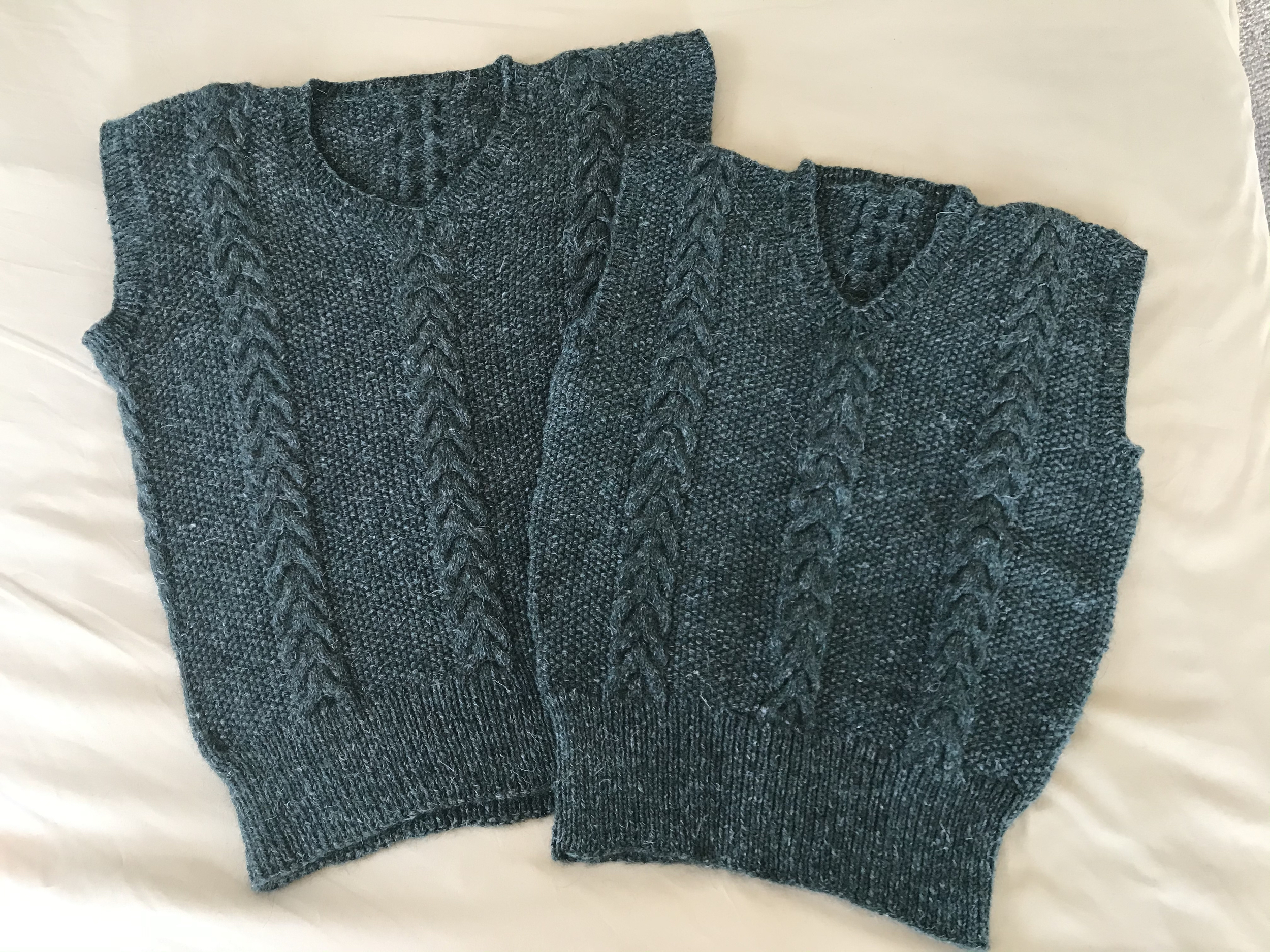 Knitted Vests from the Center for Knit and Crochet crowdsourced collection