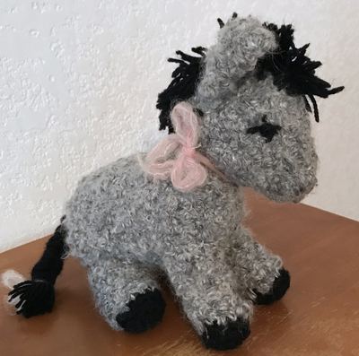 Crocheted Donkey Toy.jpg